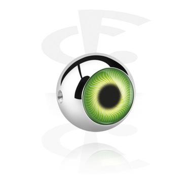 Bola con diseño de ojo para ball closure Aro