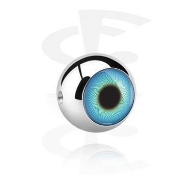 Silmä-pallo ball-closure-renkaaseen