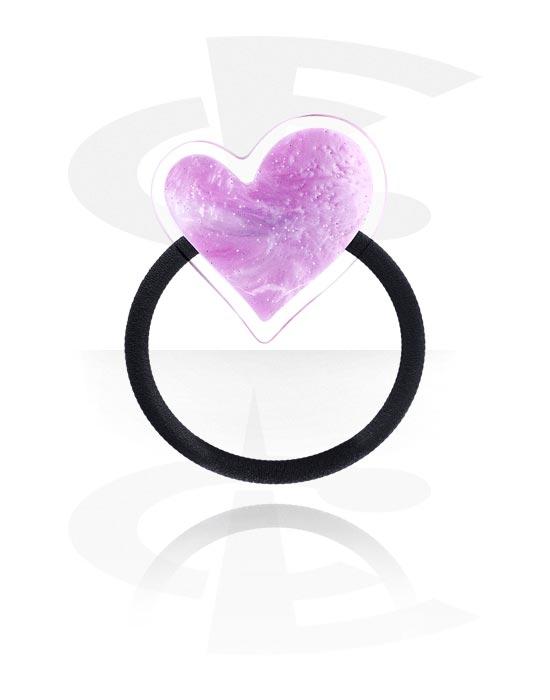 Hiuskorut, Hairband kanssa Heart Design, Joustonauha, Akryyli