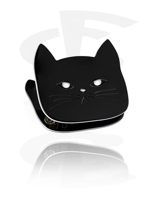 Hiuskorut, Bobby Pin kanssa cat design, Akryyli