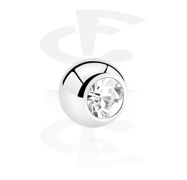 Kuglice i zamjenski nastavci, Jeweled Micro Ball, Surgical Steel 316L