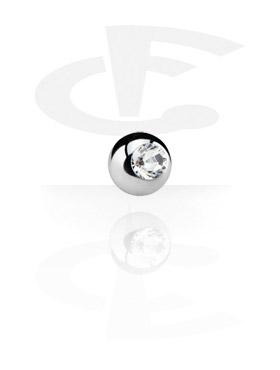 Bola com pedra de cristal