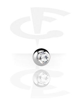 Kulki i inne zakończenia, Micro Jeweled Ball, Surgical Steel 316L