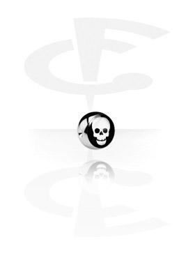 Logo Ball for Ball Closure Rings