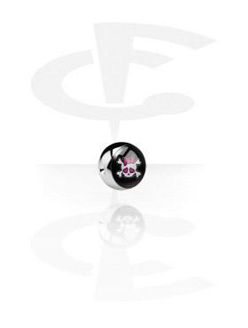 Pallina con immagine per ball closure Anello