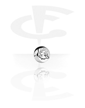 Kulki i inne zakończenia, Picture Ball for BCR, Surgical Steel 316L