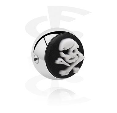 Boule pour Ball Closure Ring avec accessoire en silicone