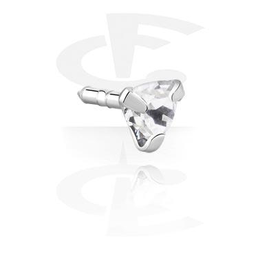 Jeweled Stud de Bioflex Internal Labrets