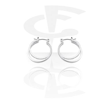 Korvakorut, Earrings, Surgical Steel 316L, Plated Brass