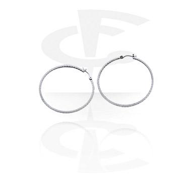 Earrings, Studs & Shields, Earrings, Surgical Steel 316L, Plated Brass