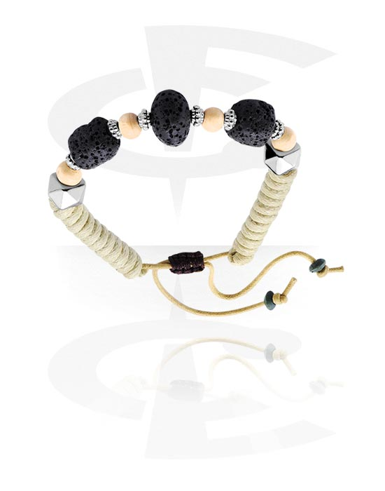 Armbänder, Modisches Armband, Basalt