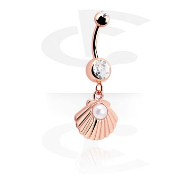 Banany, Fashion Banana, Rose Gold Plated Steel