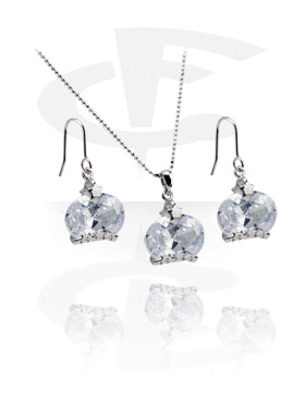 Necklace-Set with Earrings