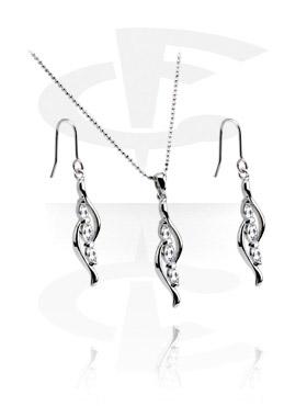 Set collana con orecchini