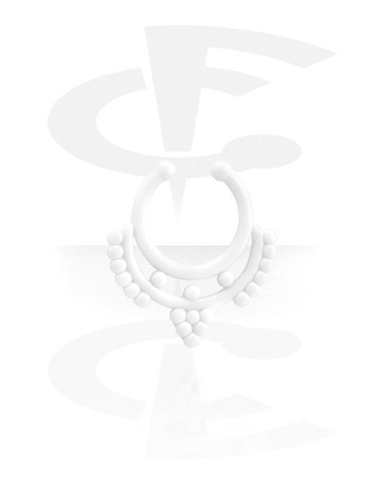 Lažni piercing nakit, Fake septum, Akril