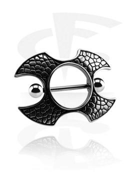 Nipple Piercings, Nipple Shield, Surgical Steel 316L