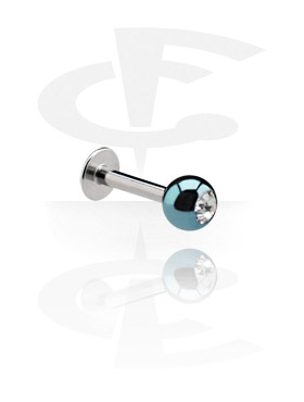Labret com Anodised Jeweled Ball