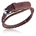 Armband, Modearmband, Läder
