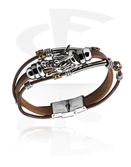 Náramky, Fashion Bracelet, Kůže