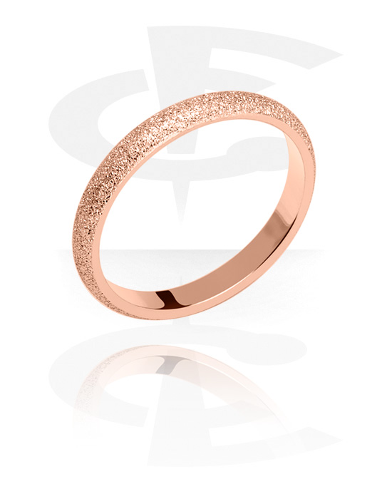Rings, Ring, Rose Gold Plated Surgical Steel 316L