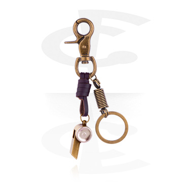 Keychains, Keychain, Alloy Steel ,  Leather