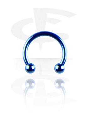 Anodised Micro Circular Barbell