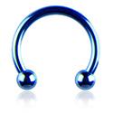 Circular Barbell, Circular barbell, Chirurgico acciaio 316L