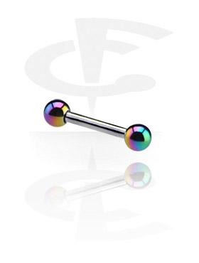 Barbell con bolas anodizadas
