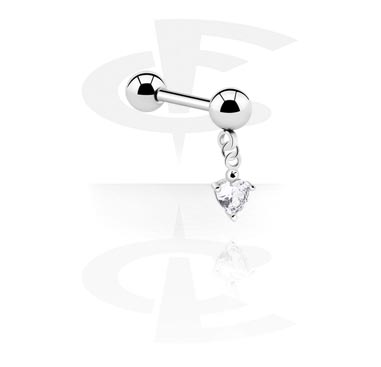 Barbells, Barbell with Charm, Surgical Steel 316L