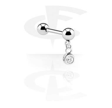 Šipkice, Barbell with Charm, Surgical Steel 316L