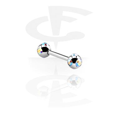 Barbell with Tiffany-Balls