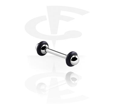 "Barbells, Barbell with ""UFO""-Balls, Surgical Steel 316L"