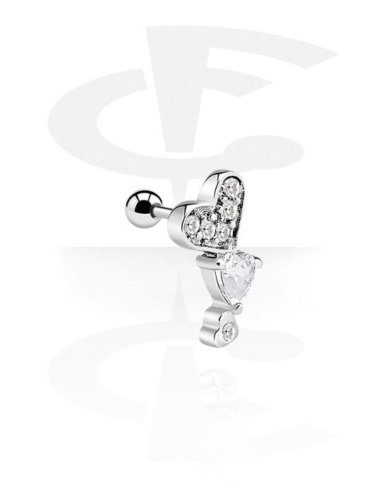 Helix / Tragus, Traguspiercing, Chirurgisch staal 316L