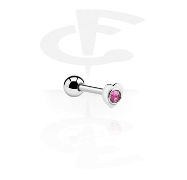 Helix / Tragus, Tragus Piercing Micro Barbell, Chirurgenstahl 316L