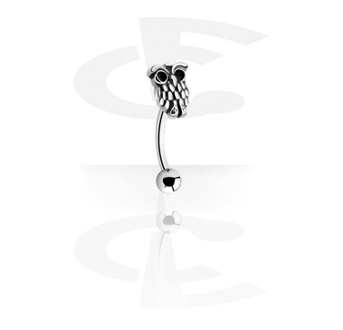 Curved Barbells, Fashion Banana, Surgical Steel 316L