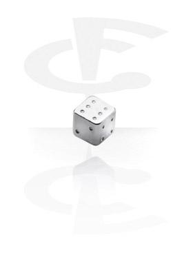 Pallot ja koristeet, Micro Dice, Surgical Steel 316L
