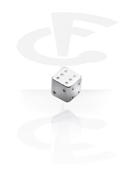 Balls & Replacement Ends, Micro Dice, Surgical Steel 316L
