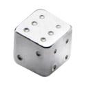 Palline e Accessori, Micro Dice, Chirurgico acciaio 316L