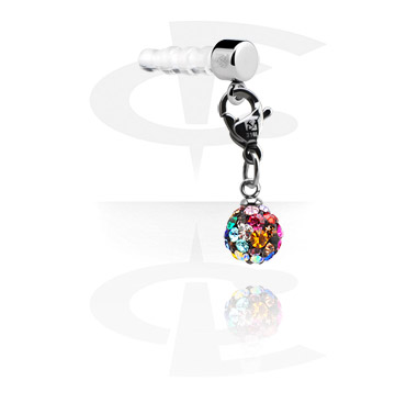 Privjesci za mobitel, Earphone Plug Charm