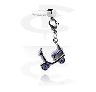 Adorno para conector de auriculares