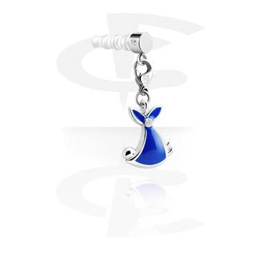 Přívěsky na telefon, Earphone Plug Charm