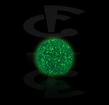 Boules et Accessoires, Micro Glow in the Dark Ball, Acrylique