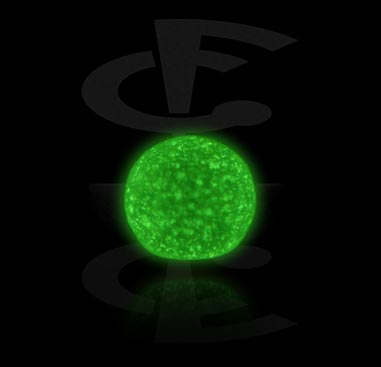 Balls & Replacement Ends, Micro Glow in the Dark Ball, Acrylic