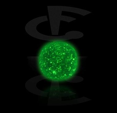 Pallot ja koristeet, Micro Glow in the Dark Ball, Acryl
