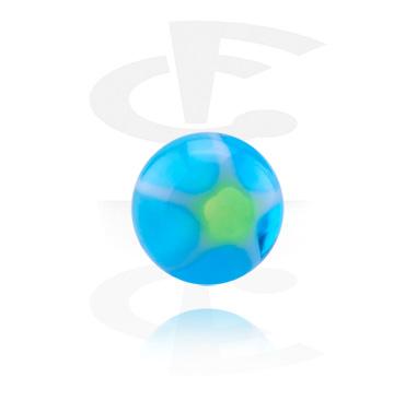 Micro Glittering Murano Ball