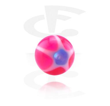 Kuglice i zamjenski nastavci, Micro Glittering Murano Ball, Acryl