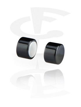 Fake Piercing, Plug magnetico, Acryl