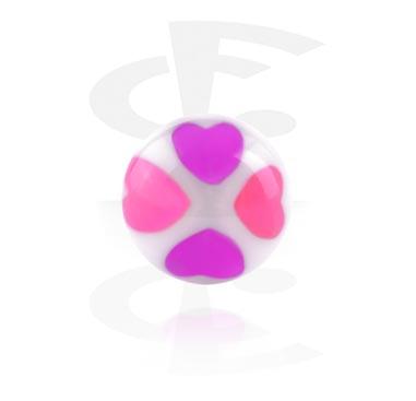 Bola con corazones