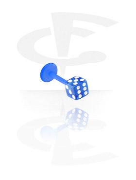 labret med dice attachment