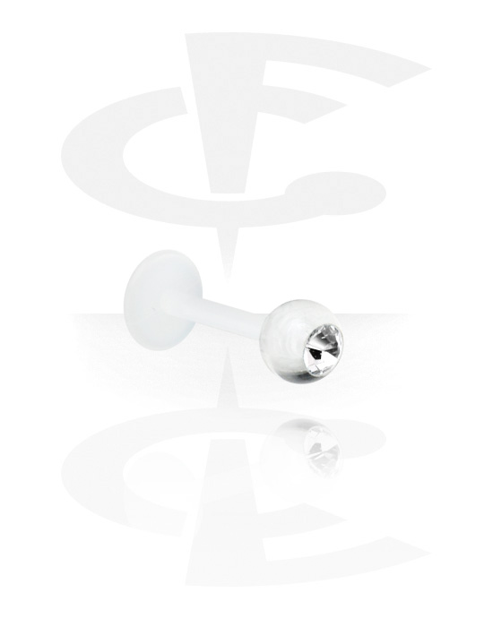 Labrety, Jeweled Flexible Micro Labret, Acryl